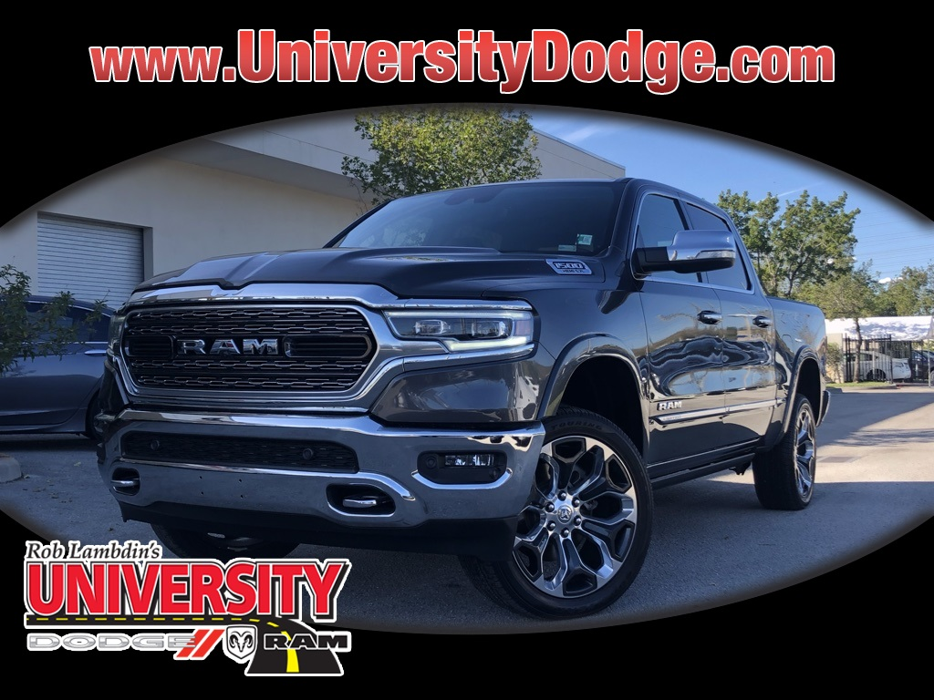 Certified Pre Owned 2019 Ram 1500 Limited 4d Crew Cab In Davie