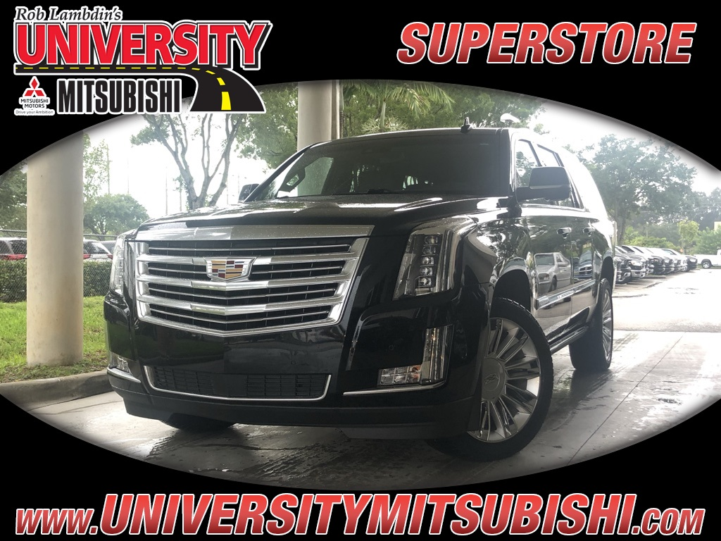 Pre-Owned 2019 Cadillac Escalade ESV Platinum Edition